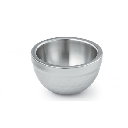 1-quart Stainless Steel Double Wall Serving Bowl