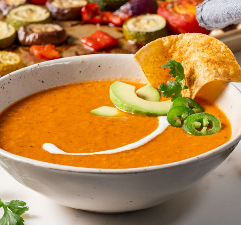 AngleShot Mexican Tomato Soup RecipeImage Bakeware 1240x550