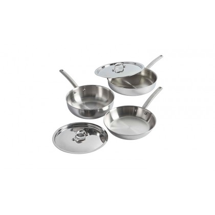 5-Ply Stainless Steel Cookware Set